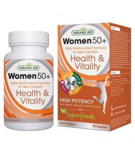 Women 50+ Multi-nutrient 30cps