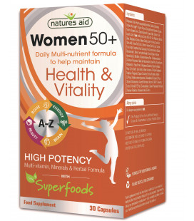 Women 50+ Multinutrient 30cps