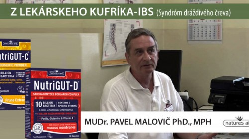 Využitie špeciálnych probiotík v praxi lekára - MUDr. Pavel Malovič Phd., MPH