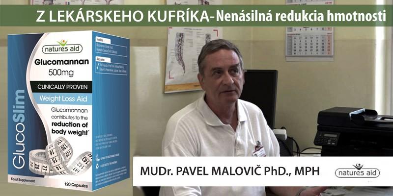 Klinicky overená redukcia hmotnosti - MUDr. Pavel Malovič PhD., MPH