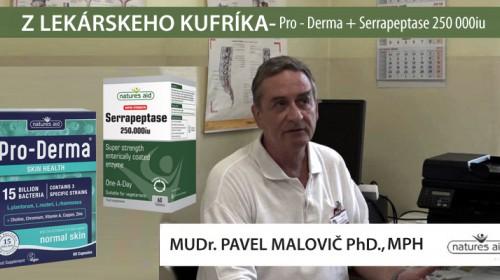 Využitie netradičnej podpornej liečby pri kožných problémoch, Mudr. Pavel Malovič PhD., MPH