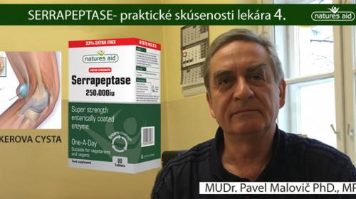 CYSTY A SERRAPEPTASE- MUDR. PAVEL MALOVIČ PHD., MPH