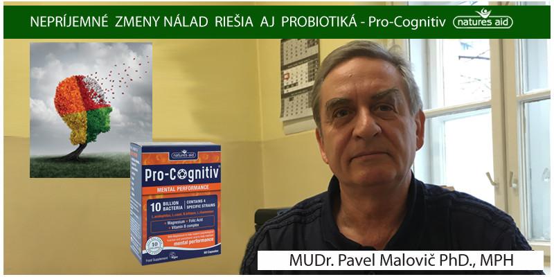 NEPRÍJEMNÉ  ZMENY NÁLAD  RIEŠIA  AJ  PROBIOTIKÁ - MUDR. PAVEL MALOVIČ PHD., MPH