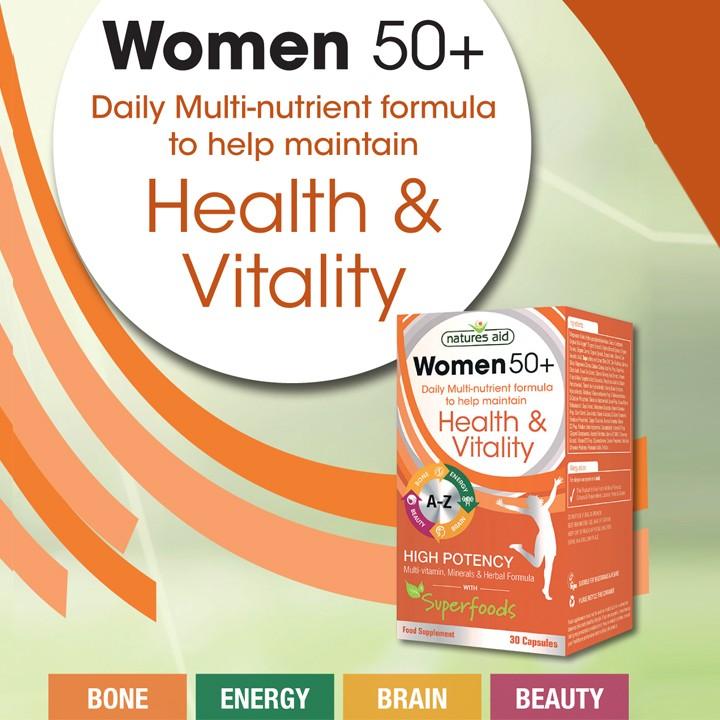WOMEN 50+
